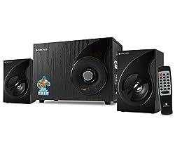 Zebronics 2.1 Wired Speaker with FM, USB, SDCARD Slot and Remote (ZEB-SW2494),Zebronics,ZEB-SW2494 2.1