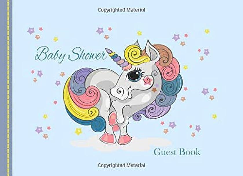 割り当てるプロフィール意識Baby Shower Guest Book: Rainbow Unicorn Advice for Parents and Gift Log