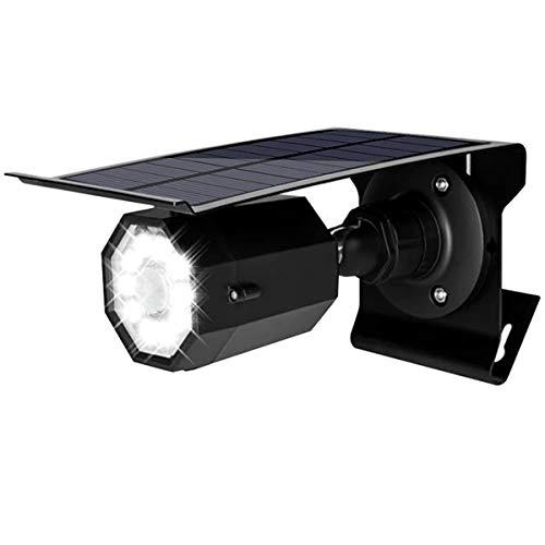 KTLSHY Solarlichter Outdoor Motion Sensor 500lm dim bis helle Outdoor-Überschwemmungs-Sicherheitslampe Scheinwerfer für Deck Yard Ross Patio Garten,Schwarz