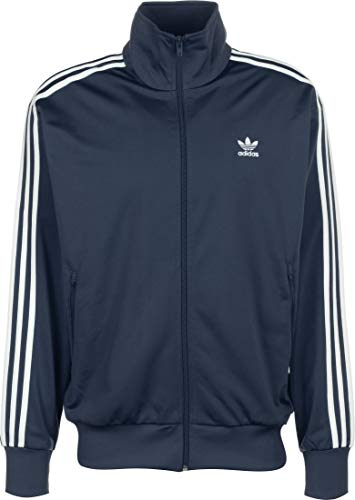 adidas Mens Firebird Jacket, Night Marine, L