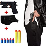 Kid Toy Gun Classic m1911 Toy Guns for Boys Colorful Cap Gun with Soft Bullets,Teach Shooter and Gun Safety,Real Dimensions,Fun Outdoor Game
