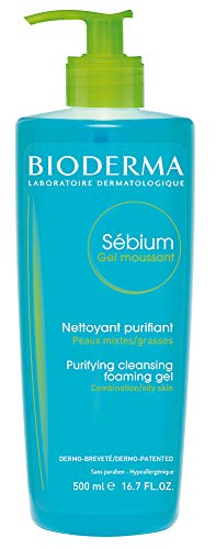Gel Moussant Sébium Pump 500 ml Bioderma