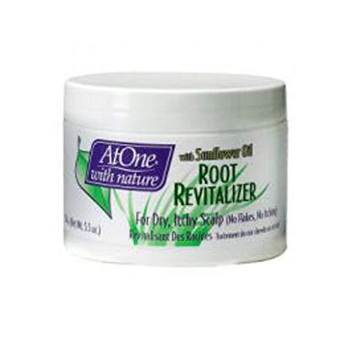AtOne With Nature - Revitalisant de racine - Traitement pour cuir chevelu sec et irrité - Pot de 155 g