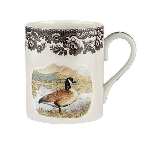 Spode Woodland Mug (16oz) - Canada Goose Design- Porcelain