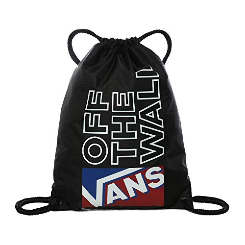 Vans Unisex LEAGUE BENCH BAG Benchedbag, Schwarz/Rot, One Size