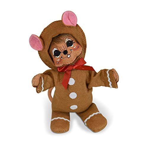 6in Wannabe a Gingerbread Man Mouse