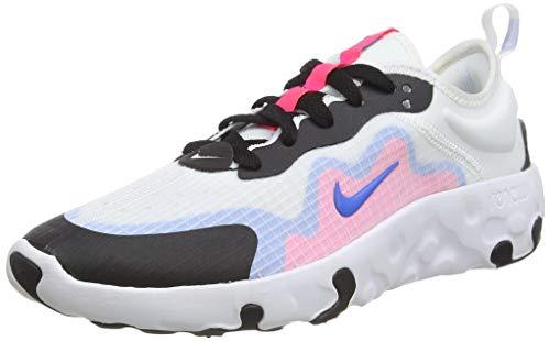 Nike Unisex Renew Lucent (Gs) Laufschuhe, Weiß (White/Photo Blue/Hyper Pink/Black 101), 40 EU
