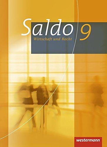 Saldo - Wirtschaft und Recht: Schülerband 9