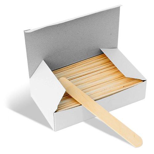 Deo Wachsspachtel, aus Holz, 100 Stück