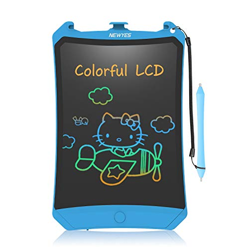 NEWYES LCD Schreibtafel, Buntes Display 8,5 Zoll...