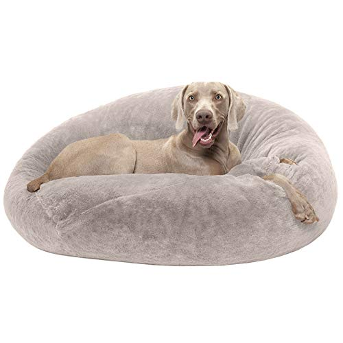 Round Dog Bed for Large Dogs