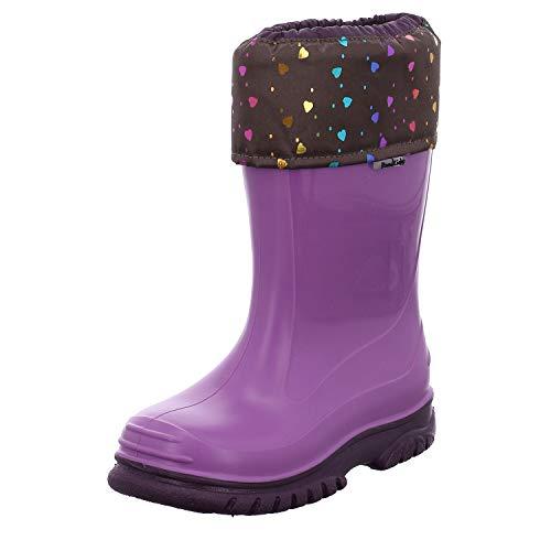Romika Unisex-Kinder Sweet Gummistiefel, Violett (Viola-Kombi 581 581), 26 EU