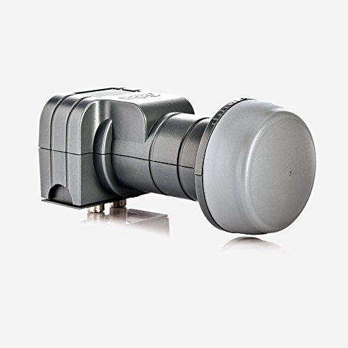 Fuba DEK 217 Twin LNB - LNB Doble Universal para 2 usuarios...