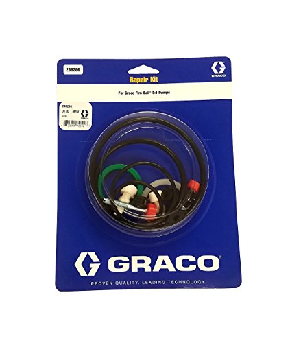 Graco 238286 Repair Kit 5:1 Ratio Fire Ball 300 Oil Pumps 238-286 Fluid and Air Repair Parts Included