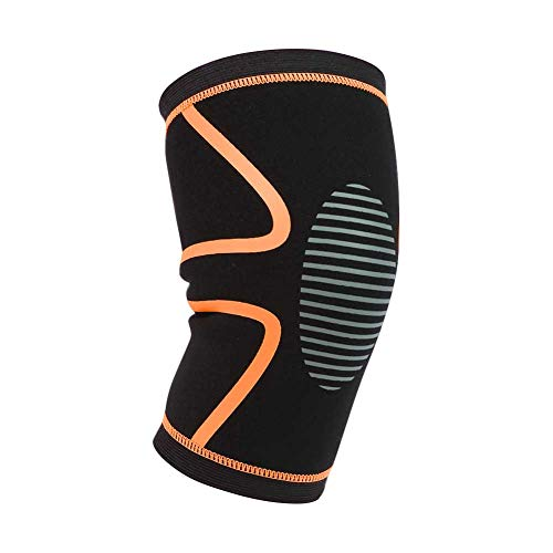 Sawpy Rodillera Transpirable, 1 Pieza de Nailon y Licra, Calentador de piernas, Protector de Envoltura, Accesorios de Ropa Deportiva para Exteriores