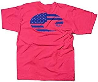 Costa Del Mar USA Flag Short Sleeve T-Shirt