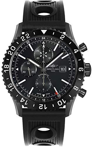 Breitling Reloj Chronoliner M2431013/BF02-201S de acero negro de 46 mm