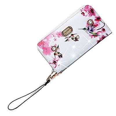 Brangio Italy | Vintage Hummingbird Wristlet Wallet for Women