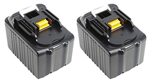 Preisvergleich Produktbild 2X PowerWings 6, 0 ah 18V bl1860 Akku Batterie für Makita BL1860 BL1850 BL1840 BL1830 6000mAh