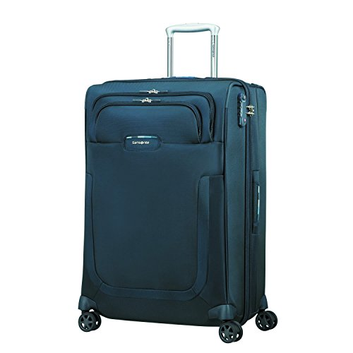 Samsonite Duosphere - Spinner 67/24 Expandable Koffer, 67 cm, 80.5 L, Dark Blue