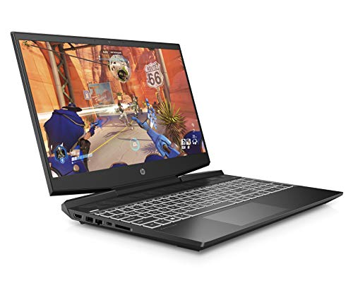 HP Pavilion 15-dk1007na 15.6 Inch Full HD Gaming Laptop - (Shadow Black) (Intel Core i5-10300H, NVIDIA GeForce GTX 1650 Ti (4 GB Dedicated) Graphics, 8 GB RAM, 512 GB SSD, Windows 10 Home)