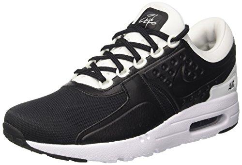 Nike Air Max Zero Premium, Scarpe da Ginnastica Uomo, Nero (Black/Black/White), 47.5 EU