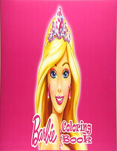 barbie coloring book: coloring book for kids and adults