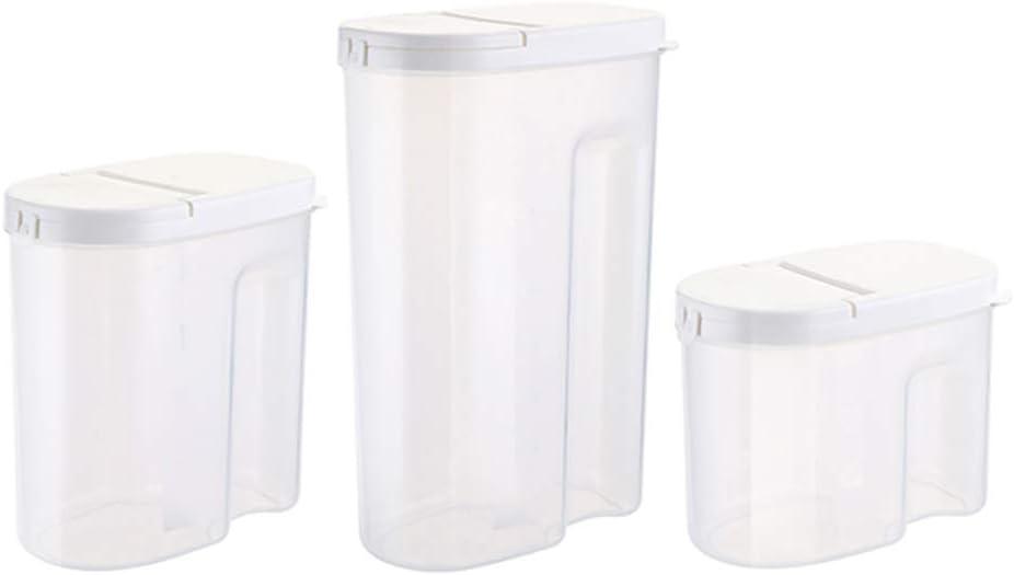 Sealed Max 2021 new 49% OFF cans grain storage tanks st transparent plastic kitchen