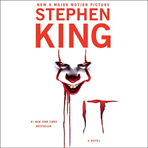 It                   By:                                                                                                                                 Stephen King                               Narrated by:                                                                                                                                 Steven Weber                      Length: 44 hrs and 55 mins     38,586 ratings     Overall 4.7