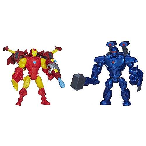 Marvel Super Hero Mashers Iron Man vs. Iron Monger Mash Pack