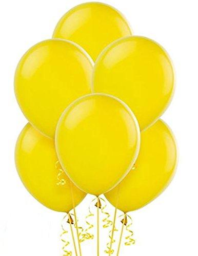 Gemar Conf. 100 Palloncini Lattice 10'/20 cm, Colore Giallo, G90/02