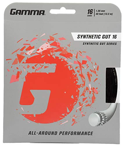 Gamma Synthetic Gut Tennis String