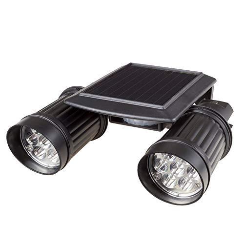 WY-YAN Luz eléctrica Solar 14 de la lámpara a Prueba de Agua sensores Movimiento Ligero de la Pared del jardín Seguridad Farola LED for el jardín al Aire Libre Almacén Garaje