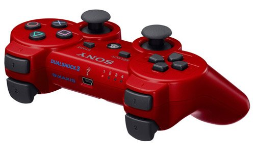 PlayStation 3 - DualShock 3 Wireless Controller, rot