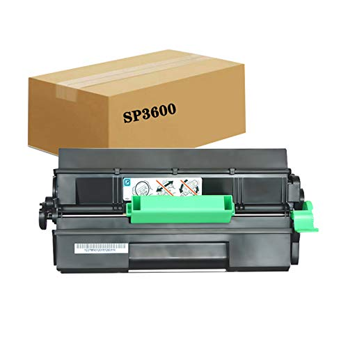 KSBIAO Compatible con Ricoh SP4510DN Cartucho de Polvo SP3610SF SP3600DN SP4510SF tóner tóner láser multifunción Cartucho de tóner SP4500C.-Black