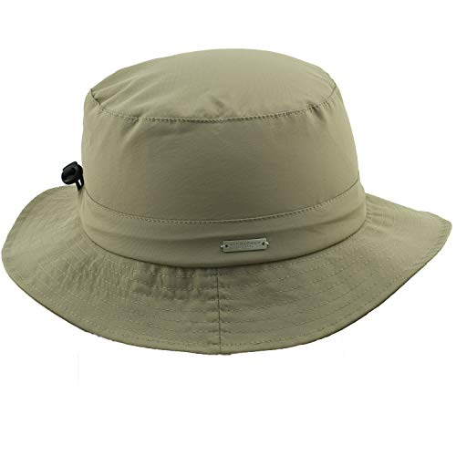 Seeberger Bucket hat wasserabweisend/UV Schutz Taupe Größe One Size