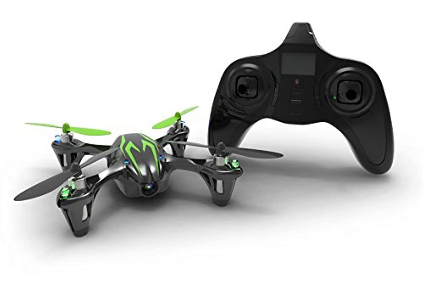 Hubsan H107C X4 Mini Quadcopter RC Helicopter Drone RTF with 480P HD Camera Toys Black/Green