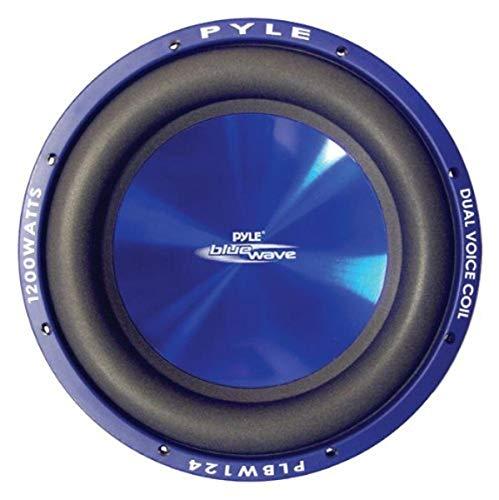 Pyle PLBW104 Passive subwoofer Bleu - Subwoofers/caissons de Basses (Caisson de Basse Passif, 1000 W, 85 DB, 4 Ohm, Bleu)