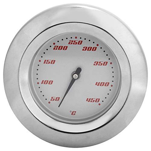 Deror Termómetro TS-BX57 Termómetro bimetálico 50-450 ℃ Medidor de Temperatura de Puntero para Horno de Parrilla de Barbacoa