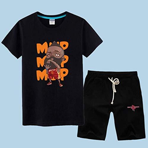 CZLSD Camiseta de Baloncesto de la NBA Hombre Conjunto de Manga Corta Houston Rockets James Harden/Chris Paul Camiseta Deportiva Conjunto de Ropa de Entrenamiento Jersey