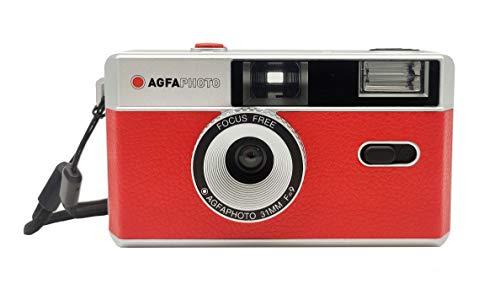AgfaPhoto Vintage Analógica 35mm Foto Kamera roja