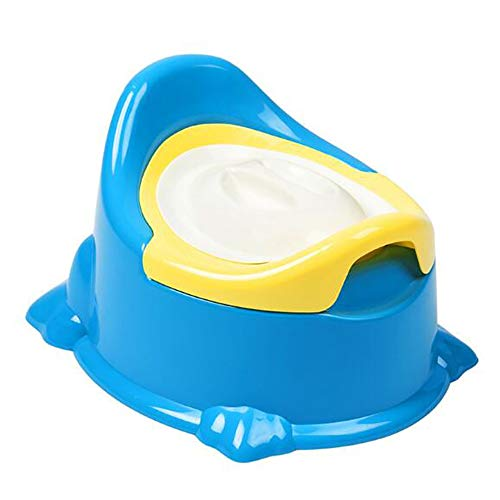 Pot pour Bébé, Nouveau Enfant Bébé Siège De Toilette avec Couvercle Pots Simple Infantile Siège De Toilette Portable Toilette Formation Tiroir Pot Chaise Enfants Pot WC,Bleu
