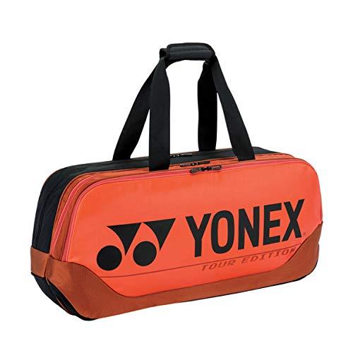 Yonex 92031W (Copper Orange) Pro Turnier Badminton Tennisschläger Tasche