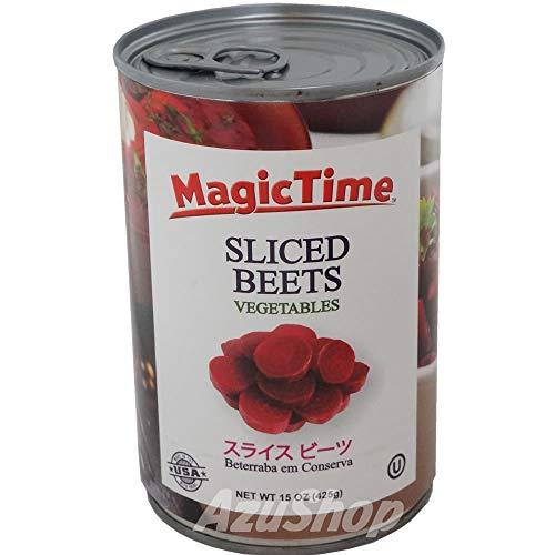ビーツ 水煮 スライス 缶詰め 固形量236g 内容総量425g/マジックタイム