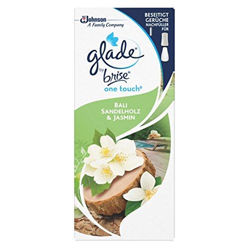 Glade One Touch Minispray Nachfüller Bali Sandelholz und Jasmin, 10 ml