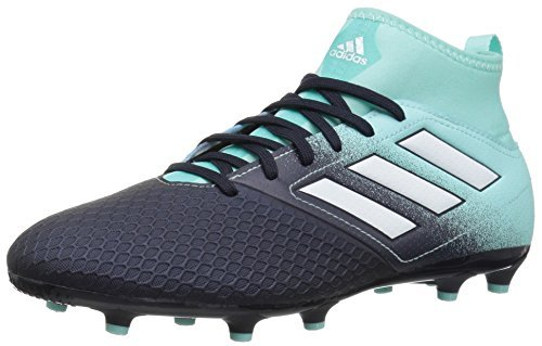 adidas Boys' ACE 17.3 FG J, Energy Aqua/White/Legend Ink, 1...