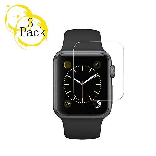 3Pack Apple 40mm Watch Screen Protector (40mm Series 4 Compatible) BBInfinite Full Coverage Anti-Scratch/Anti-Fingerprint/High Definition Screen Protector Compatible Apple Watch 40mm