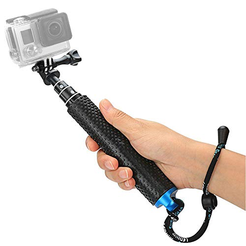 """Foretoo Selfie Stick,19""""Waterproof Hand Grip Adjustable Extension Monopod Pole Compatible with..."""
