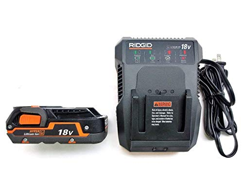 Ridgid 18 Volt Dual Chemistry Battery Charger R86092 & Battery R840085