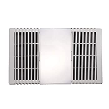 Broan-NuTone 665RP Heater Fan and Light Combo 70 CFM White